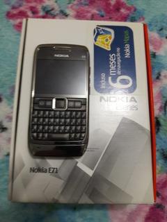 Nokia E71 Na Caixa - Sem Bateria