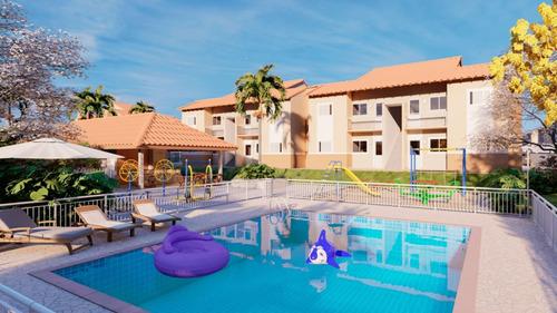 Imagem 1 de 30 de Casa Com 2 Dormitórios À Venda, 43 M² Por R$ 185.000,00 - Céu Azul Residencial - Indaiatuba/sp - Ca0008