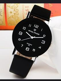 Relógio Unissex Quartzo Analogico Barato