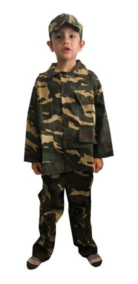 Disfraz Soldado, Militar, Ejercito, Oficios Modelo 2