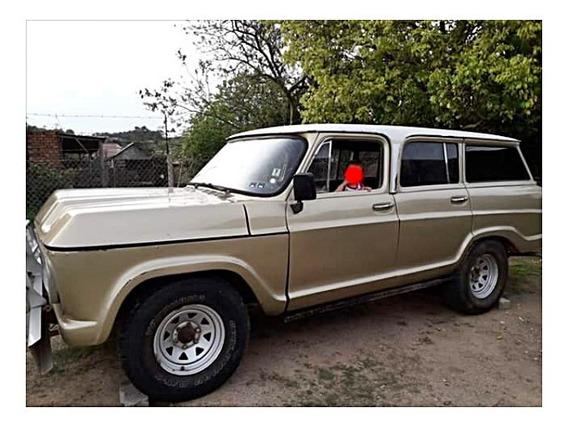 Caminhonete Chevrolet Veraneio Gm 1980 Dourada