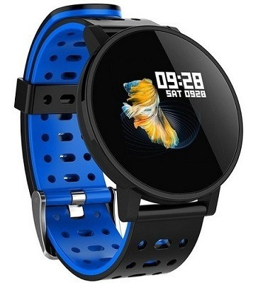 Smartwatch Makibes T3 A Prova Dagua Azul