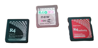 R4 Infinitydual Core, R4i 3d New, R4 Upg Sin Memoria Usada¡