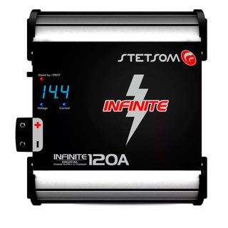 Fonte 120a Stetsom Bivolt Com Voltimetro Similar Tef120
