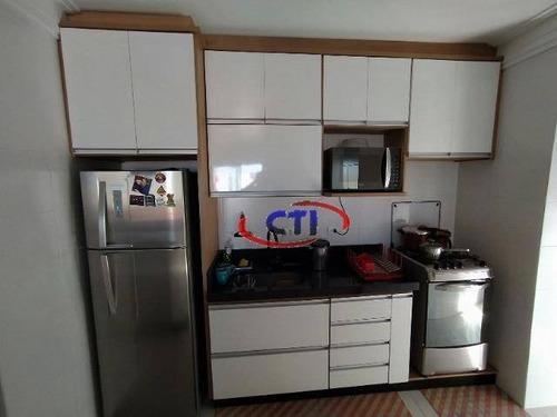 Apartamento Com 3 Dormitórios À Venda, 74 M²  - Assunção - São Bernardo Do Campo/sp - Ap3386