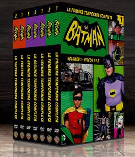 Batman Y Robin Serie De Los 60 De Coleccion!