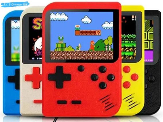 Vídeo Game Portátil 400 Jogo Super Nintendo Mini Game Barato