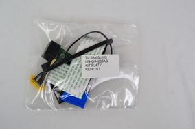 Kit Cabo Flat + Sensor Remoto + Wifi Tv Samsung Un40h4203ag