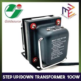 Transformador Goldsouse 100w Entrada 220v Saida 110v Com Nfe