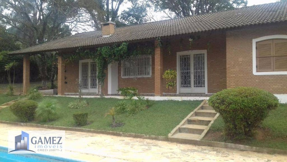 Chácara Residencial À Venda, Jardim Estância Brasil, Atibaia. - Ch0032