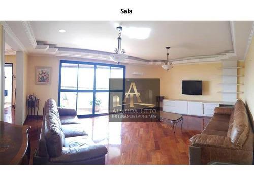 Imagem 1 de 30 de Lindo Apartamento De 220m² Em Alphaville, Barueri - Valor Da Venda: R$1.395.000,00 (um Milhão Trezentos E Noventa E Cinco Mil Reais). - Ap3487