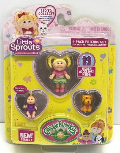 Little Sprouts Blister X 4 Serie 1 Art 37400 Loonytoys