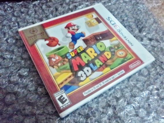 Super Mario 3d Land Nintendo 3ds Usa Lacrado