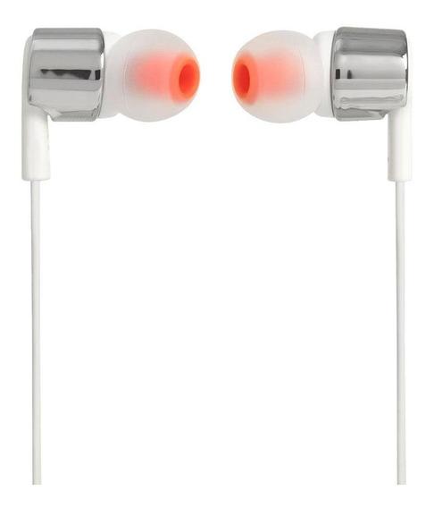 Fone De Ouvido Jbl Tune 210 Gry Cinza In Ear