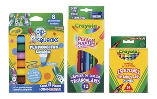 Kit Pre-escolar Crayola