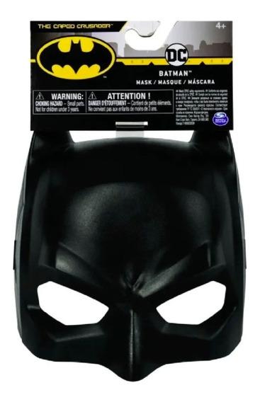 Mascara Batman Plástica Original Spin Master Dc Playking
