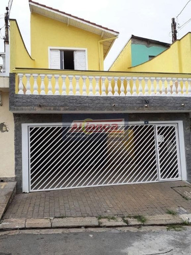 Sobrado Residencial À Venda, Jardim Rosa De Franca, Guarulhos. - Ai1409