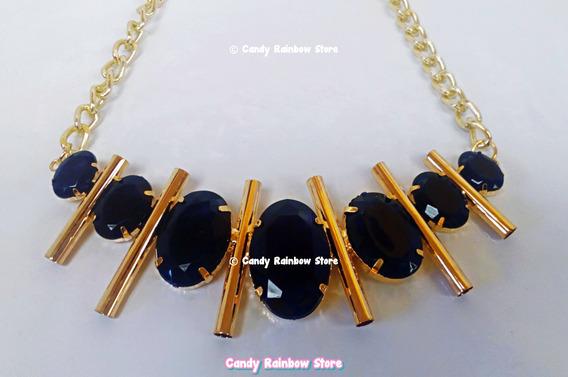 Collar Gargantilla Negro Moda Fashion Dama Choker Kawaii