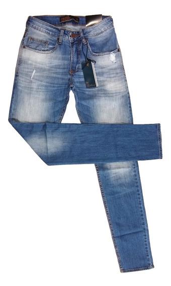 Calça Jeans Masculina Colcci Stoned Wash Slim Fit Original