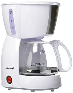 Brentwood Ts213w Cafetera Electrica Automatico 4 Tazas