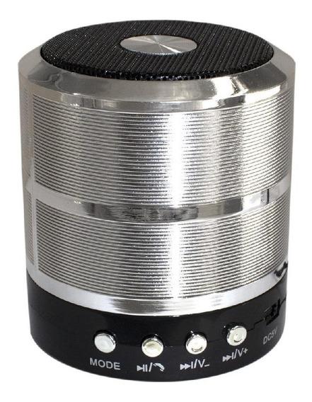 Caixinha De Som Recarregável Alto Falante Bluetooth Rádio Fm