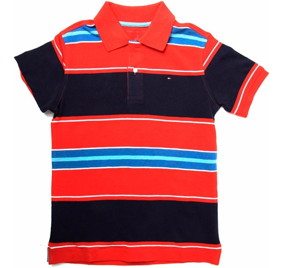 Playera Polo Bb Ss Harvard Niño Tommy Hilfiger To103