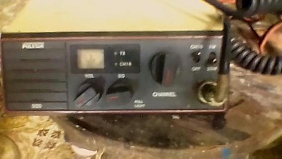 Radio Vanda Marina Operativo Usado, Marca Pullrstar