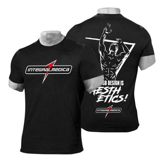 Camiseta De Treino Black (preta) - Integralmedica