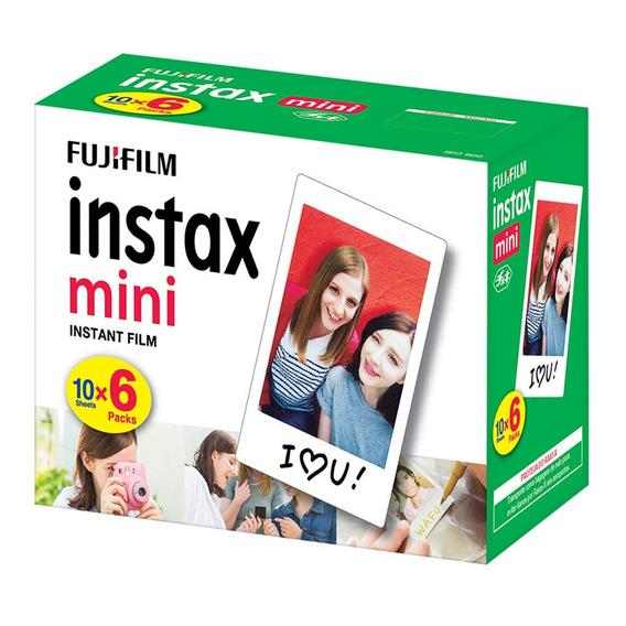 3 X Kits Filme Instax Mini Pack - 60 Fotos Fujifilm