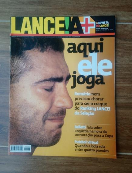 Revista Lance A+ - Ano 2 - Número 86 - 21 A 27 De Abril 2002