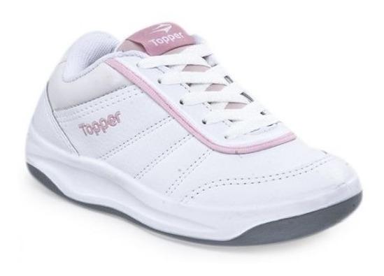 Zapatillas Topper Tie Break P/niña 25 Al 34 Colegial Nesport