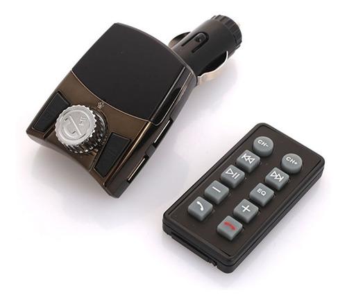 Receptor De Audio Bluetooth Con Transmisor Por Fm Para Carro