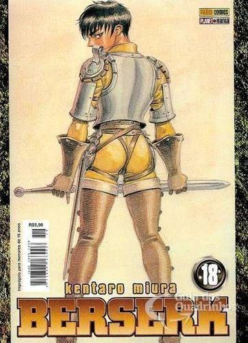 Livro Berserk 1ª Série - N° 18 Kentaro Miura