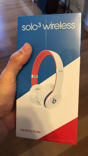 Auriculares Beats By Dre Solo 3 Wireless Club White