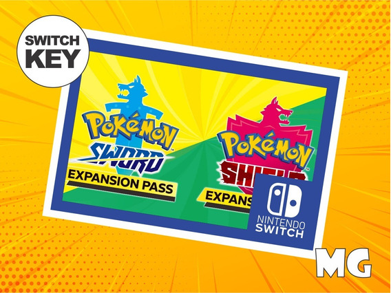 Pokémon Sword Ou Shield Expansion Pass - Dlc Switch
