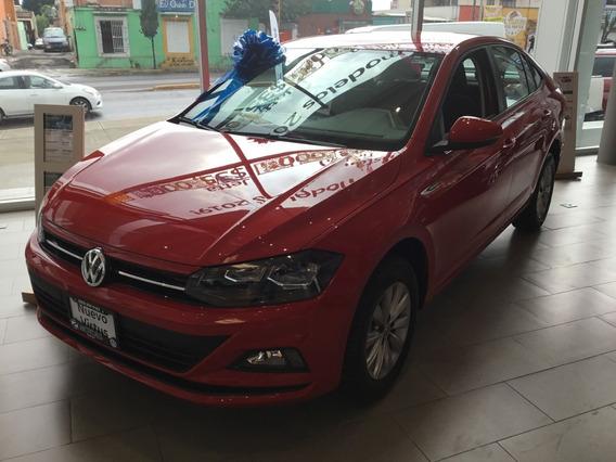 Volkswagen Virtus Comfortline Std 2020 0 Km Rojo 5 Puertas