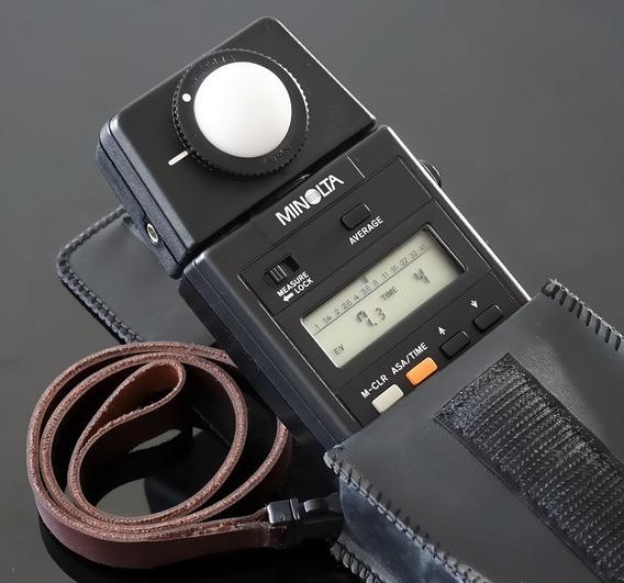 Fotômetro \ Flash Meter - Minolta Autometer 3f