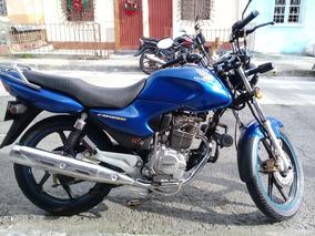 Moto Honda Cb 125 E Azul
