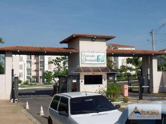 Apartamento Com 2 Dormitórios À Venda, 51 M² - Vila Inema - Hortolândia/sp - Ap6755