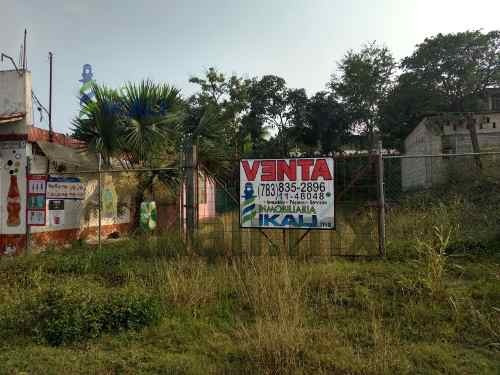 Venta Terreno 212.5 M² Carretera A Tampico Tuxpan Veracruz. Se Vende Terreno En Ubicación Comercial, Aborde De La Carretera Federal 180 Tuxpan - Tampico, En La Colonia Universitaria. A Unos Metros De