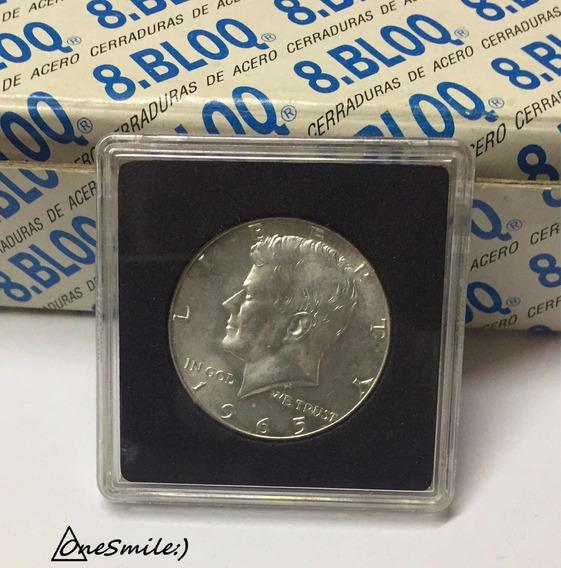 Onesmile:) Moneda De Estados Unidos Half Dollar 1965 Plata