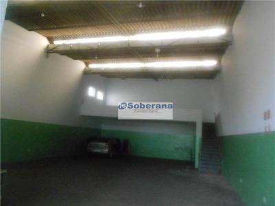 Barracão Comercial Para Locação, Jardim Eulina, Campinas. - Ba0366