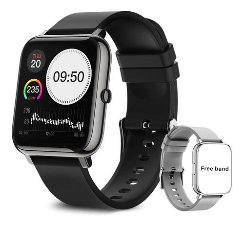 Imagen 1 de 8 de Reloj Inteligente Deportivo Impermeable Con Bluetooth