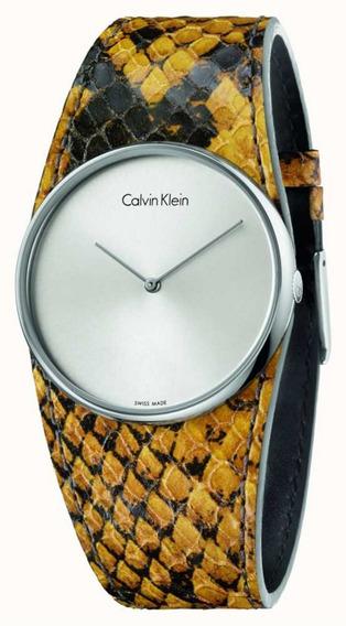 Relogio Feminino Calvin Klein K5v231z6 Prateado Promoção!!!
