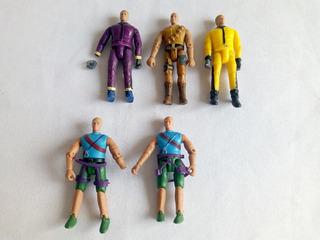 Lote Bonecos Action Figure Tipo Comandos Em Ação - Os 5 Leia