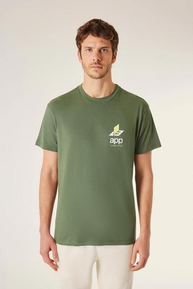Camiseta Estampada App Info Vj Reserva