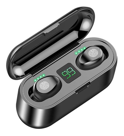 Fone De Ouvido F9 Smart Touch Sem Fio Bluetooth 2000mah