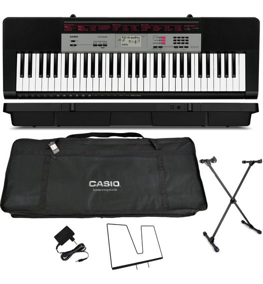 Kit Teclado Arranjador Musical Ctk-1500 Casio Completo
