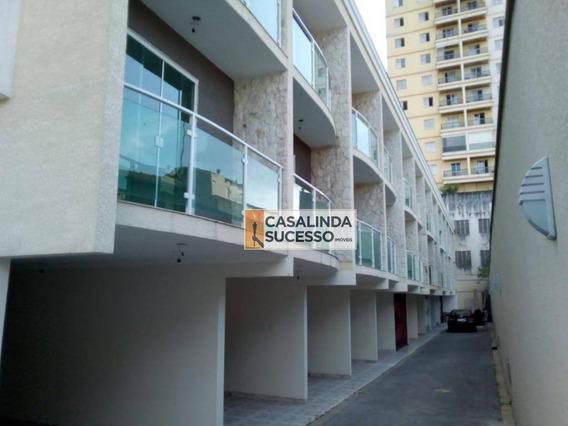 Sobrado Com 2 Dormitórios À Venda, 80 M² Por R$ 375.000 - Vila Esperança - São Paulo/sp - So1004
