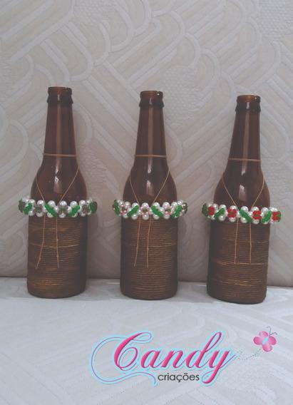 Kit Garrafas Decorativas